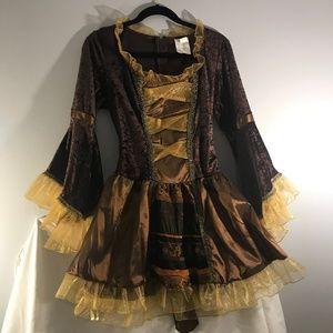 Women's Sassy Victorian Pirate Costume